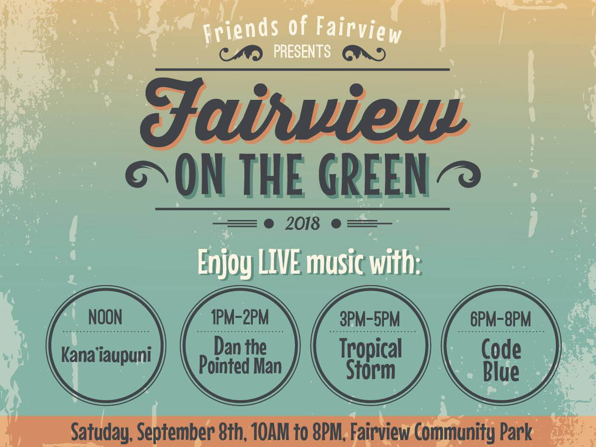 Fairview on the Green Event Poster